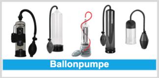 Ballon-Penispumpe