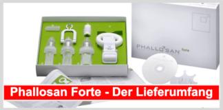 Phallosan-Forte-Lieferumfang