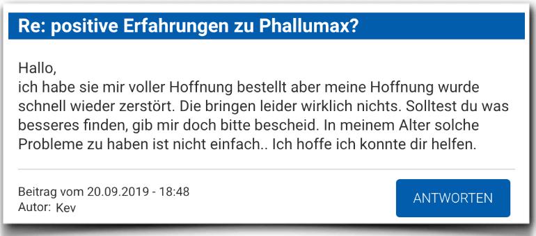 PhalluMAX Erfahrungsbericht Bewertung Kritik PhalluMAX