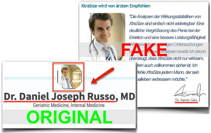 XtraSize Fake Arzt