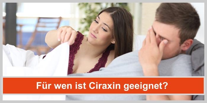 ciraxin capsules kapseln geeignet für wen