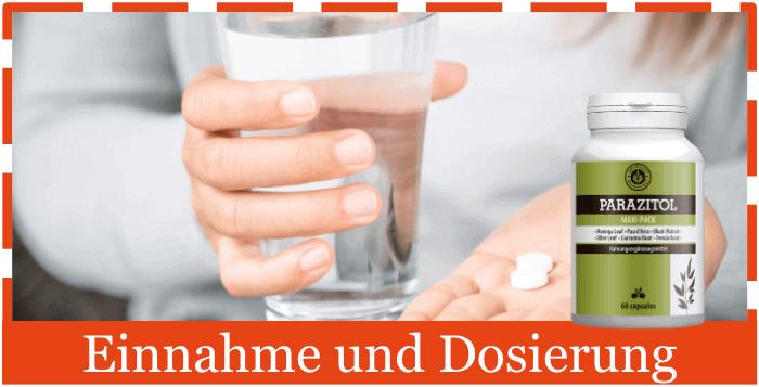 Parazitol Einnahme Anwendung Dosierung
