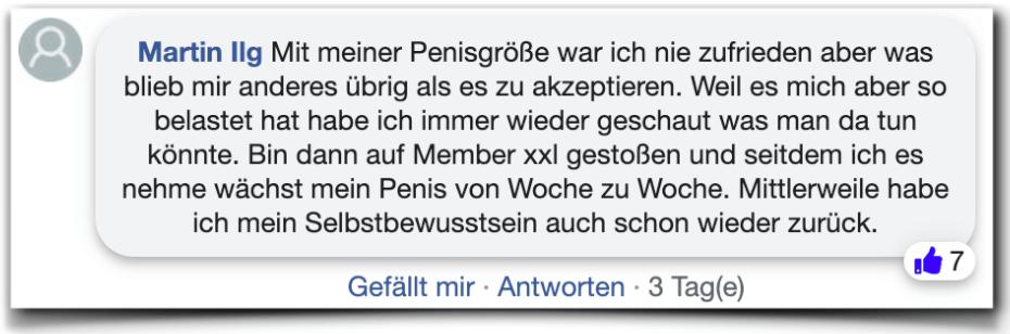 Member xxl Bewertung Erfahrung facebook