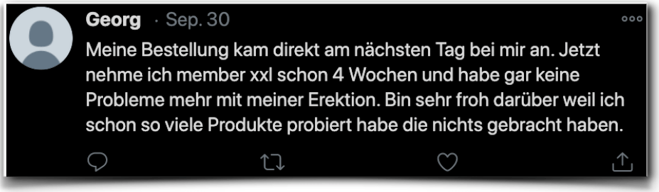 Member xxl Erfahrung Erfahrungsberichte twitter