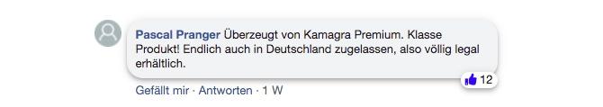 kamagra premium kapseln bewertung facebook kommentar erfahrung