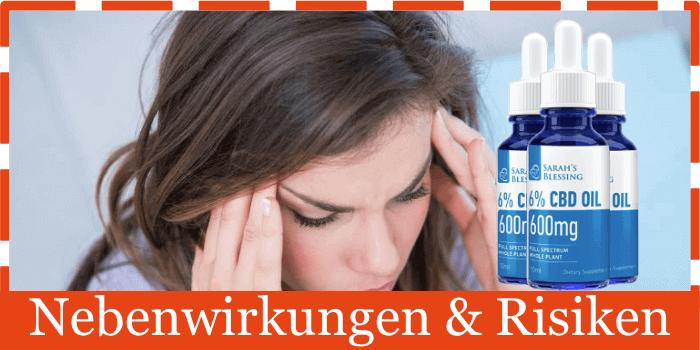 Sarah´s Blessing Nebenwirkungen Risiken Unverträglichkeiten
