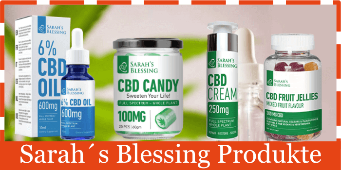 Sarah´s Blessing Produkte
