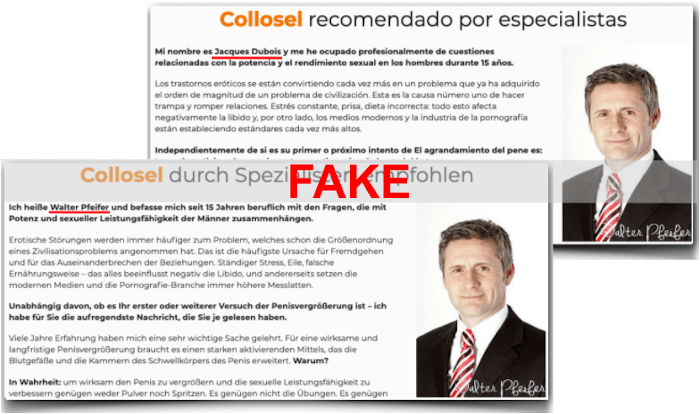 Collosel Gel Fake Spezialist