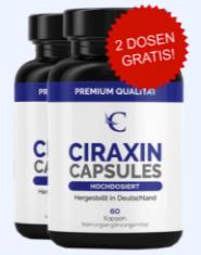 Ciraxin Capsules Abbild Tabelle